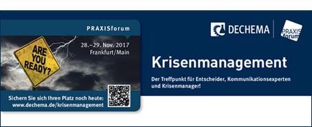 Praxisforum Krisenmanagement